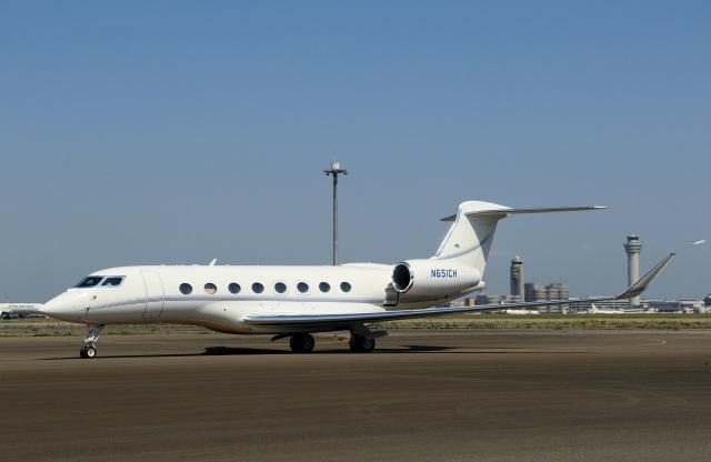 jp morgan chase bank gulfstream aerospace g650 g vi n651ch 羽田
