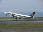 おっつんさんが、中部国際空港で撮影したシンガポール航空 A330-343Xの航空フォト(飛行機 写真・画像)
