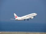 おっつんさんが、中部国際空港で撮影した日本トランスオーシャン航空 737-446の航空フォト(写真)