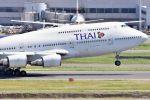 subaristさんが、羽田空港で撮影したタイ国際航空 747-4D7の航空フォト(飛行機 写真・画像)