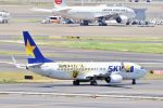 subaristさんが、羽田空港で撮影したスカイマーク 737-86Nの航空フォト(飛行機 写真・画像)