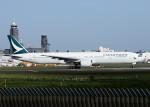 bluesky05さんが、成田国際空港で撮影したキャセイパシフィック航空 777-367の航空フォト(写真)
