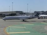 ヒロリンさんが、サンフランシスコ国際空港で撮影したユナイテッド・エクスプレス CL-600-2C10 Regional Jet CRJ-700の航空フォト(写真)