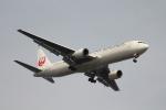 空の旅人さんが、羽田空港で撮影した日本航空 767-346/ERの航空フォト(写真)