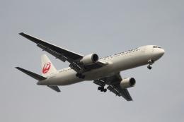 空の旅人さんが、羽田空港で撮影した日本航空 767-346/ERの航空フォト(飛行機 写真・画像)