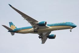 空の旅人さんが、羽田空港で撮影したベトナム航空 A350-941の航空フォト(飛行機 写真・画像)
