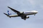 空の旅人さんが、羽田空港で撮影した全日空 767-381の航空フォト(写真)