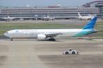 OMAさんが、羽田空港で撮影したガルーダ・インドネシア航空 777-3U3/ERの航空フォト(写真)