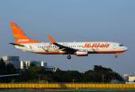 なかよし号さんが、成田国際空港で撮影したチェジュ航空 737-8ASの航空フォト(写真)