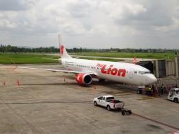 RUNWAY24さんが、チェンライ空港で撮影したタイ・ライオン・エア 737-9-MAXの航空フォト(飛行機 写真・画像)