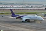 妄想竹さんが、スワンナプーム国際空港で撮影したタイ国際航空 A350-941XWBの航空フォト(写真)