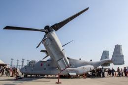 Mame @ TYOさんが、岩国空港で撮影したアメリカ海兵隊 MV-22Bの航空フォト(飛行機 写真・画像)