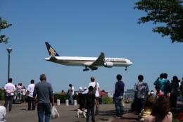 らむえあたーびんさんが、成田国際空港で撮影したシンガポール航空 777-312/ERの航空フォト(飛行機 写真・画像)