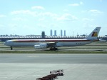 cornicheさんが、マドリード・バラハス国際空港で撮影したイベリア航空 A340-642の航空フォト(飛行機 写真・画像)