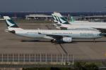 つみネコ♯2さんが、関西国際空港で撮影したキャセイパシフィック航空 A330-343Xの航空フォト(写真)