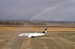 Mittsさんが、仙台空港で撮影したスカイマーク 737-8HXの航空フォト(写真)