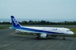 FRTさんが、鳥取空港で撮影した全日空 A320-211の航空フォト(飛行機 写真・画像)