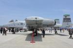 徳兵衛さんが、岩国空港で撮影したアメリカ空軍 A-10C Thunderbolt IIの航空フォト(写真)