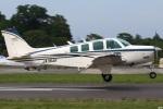 グリスさんが、ホンダエアポートで撮影したエアロスペースナガノ A36 Bonanza 36の航空フォト(写真)