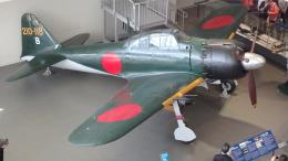 SVMさんが、呉市海事歴史科学館(大和ミュージアム)で撮影した日本海軍 Zero 62/A6M7の航空フォト(写真)