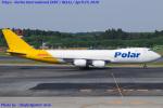 Chofu Spotter Ariaさんが、成田国際空港で撮影したアトラス航空 747-87UF/SCDの航空フォト(飛行機 写真・画像)