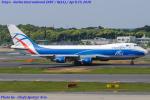 Chofu Spotter Ariaさんが、成田国際空港で撮影したカーゴロジックエア 747-446F/SCDの航空フォト(飛行機 写真・画像)