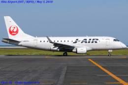 Chofu Spotter Ariaさんが、大分空港で撮影したジェイ・エア ERJ-170-100 (ERJ-170STD)の航空フォト(飛行機 写真・画像)