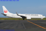 Chofu Spotter Ariaさんが、大分空港で撮影した日本航空 737-846の航空フォト(飛行機 写真・画像)