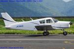 Chofu Spotter Ariaさんが、岡南飛行場で撮影した日本個人所有 PA-28-140 Cherokeeの航空フォト(飛行機 写真・画像)