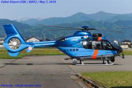 Chofu Spotter Ariaさんが、福井空港で撮影した福井県警察 EC135T2+の航空フォト(飛行機 写真・画像)