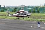 あきらっすさんが、調布飛行場で撮影した日本法人所有 AW139の航空フォト(写真)
