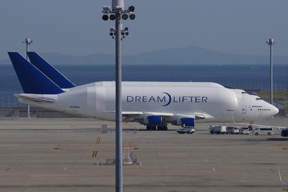 yabyanさんのボーイング Boeing 747-400 (N780BA) 航空フォト