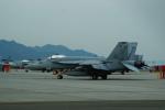 FRTさんが、岩国空港で撮影したアメリカ海軍 F/A-18E Super Hornetの航空フォト(飛行機 写真・画像)