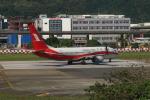 dianaさんが、台北松山空港で撮影した上海航空 737-86Dの航空フォト(写真)