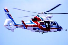 チャーリーマイクさんが、小倉空港で撮影した北九州市消防航空隊 AS365N2 Dauphin 2の航空フォト(飛行機 写真・画像)