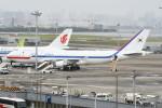 シュウさんが、羽田空港で撮影した大韓民国空軍 747-4B5の航空フォト(写真)