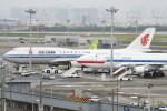 シュウさんが、羽田空港で撮影した中国国際航空 747-89Lの航空フォト(写真)