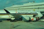 シフォンさんが、シンガポール・チャンギ国際空港で撮影したシンガポール航空 A350-941の航空フォト(飛行機 写真・画像)