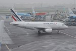 resocha747さんが、アムステルダム・スキポール国際空港で撮影したエールフランス航空 A318-111の航空フォト(写真)