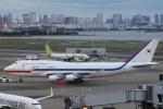 小牛田薫さんが、羽田空港で撮影した大韓民国空軍 747-4B5の航空フォト(写真)