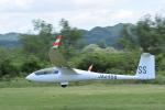 フォークリフト操縦士さんが、角田滑空場で撮影した日本個人所有 Discus bTの航空フォト(写真)