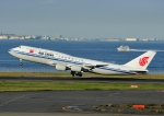 じーく。さんが、羽田空港で撮影した中国国際航空 747-89Lの航空フォト(飛行機 写真・画像)