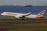 たみぃさんが、羽田空港で撮影したアメリカン航空 787-9の航空フォト(写真)