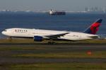 たみぃさんが、羽田空港で撮影したデルタ航空 777-232/ERの航空フォト(写真)
