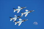 ちゃぽんさんが、岩国空港で撮影した航空自衛隊 T-4の航空フォト(飛行機 写真・画像)