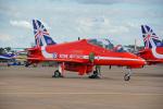 ちゃぽんさんが、フェアフォード空軍基地で撮影したイギリス空軍 BAe Hawk T1の航空フォト(写真)