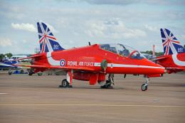 ちゃぽんさんが、フェアフォード空軍基地で撮影したイギリス空軍 BAe Hawk T1の航空フォト(飛行機 写真・画像)