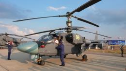 ちゃぽんさんが、ジュコーフスキー空港で撮影したロシア空軍 Ka-52の航空フォト(飛行機 写真・画像)