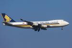 mameshibaさんが、成田国際空港で撮影したシンガポール航空カーゴ 747-412F/SCDの航空フォト(写真)