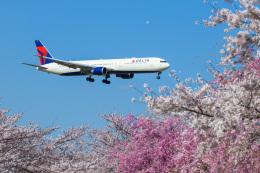 kuraykiさんが、成田国際空港で撮影したデルタ航空 767-432/ERの航空フォト(飛行機 写真・画像)